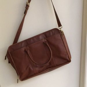 Coach leather briefcase or laptop bag